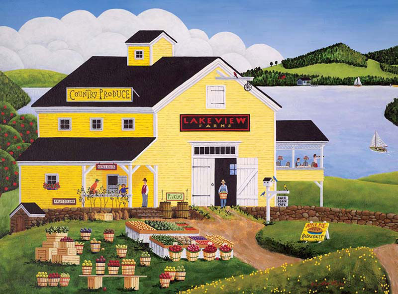 Lakeview Farms Jigsaw Puzzle