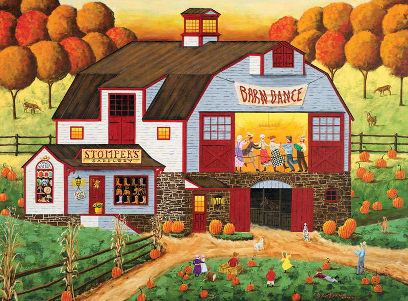 Barn Dance Jigsaw Puzzle