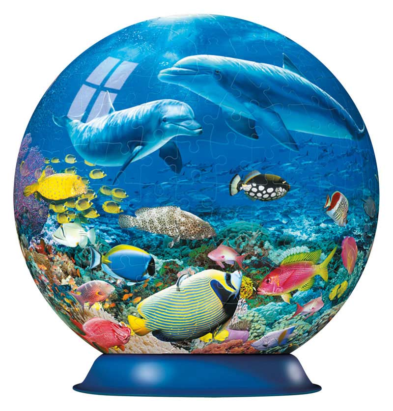Puzzleball - Underwater Dolphins (270pc) Dolphins Jigsaw Puzzle