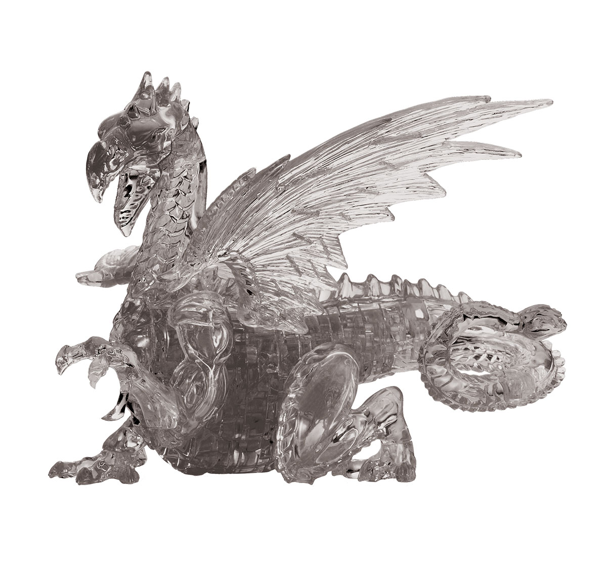Black Dragon Dragons 3D Puzzle