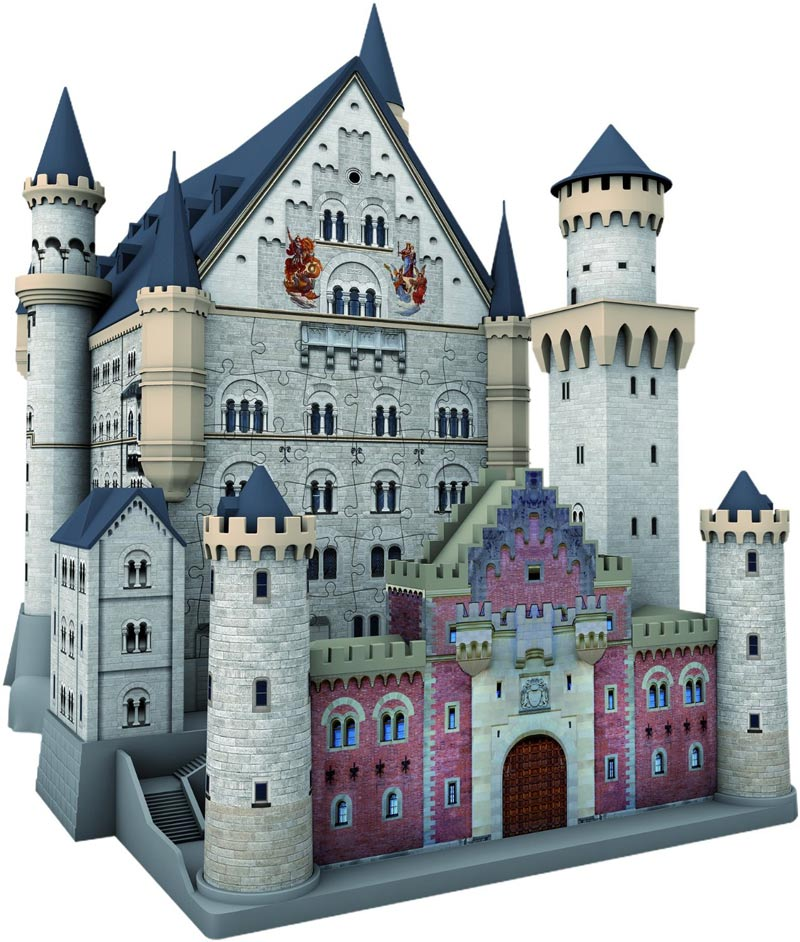 Neuschwanstein 3D Scratch and Dent Castles Jigsaw Puzzle