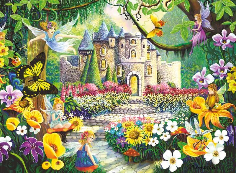 Castle Fantasy Castles Children's Puzzles