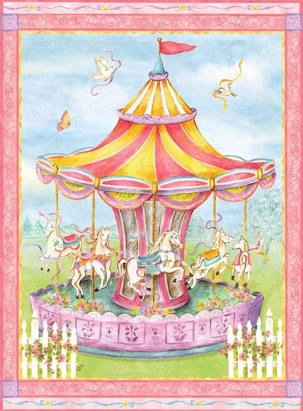Carousel Carnival Jigsaw Puzzle
