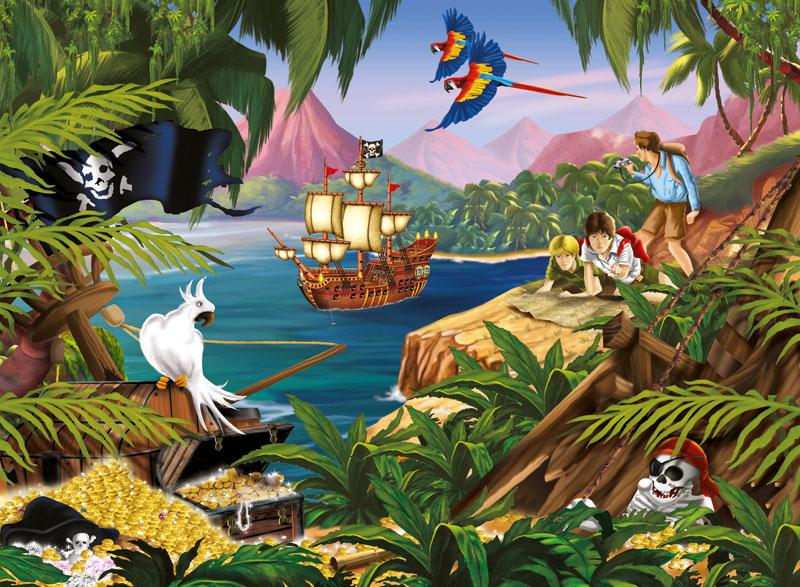 Treasure Hunt Fantasy Jigsaw Puzzle