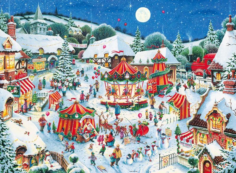 The Christmas Fair Jigsaw Puzzle