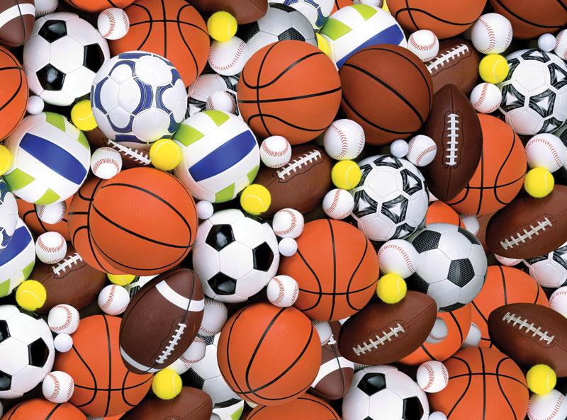 Sporting Fun Sports Jigsaw Puzzle