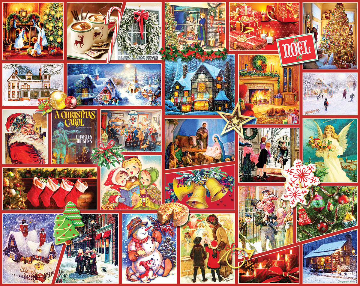 Joy of the World Christmas Jigsaw Puzzle