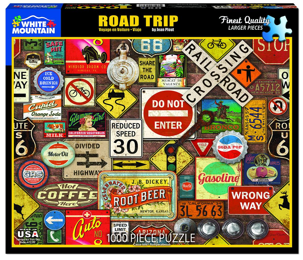 Road Trip Travel Jigsaw Puzzle