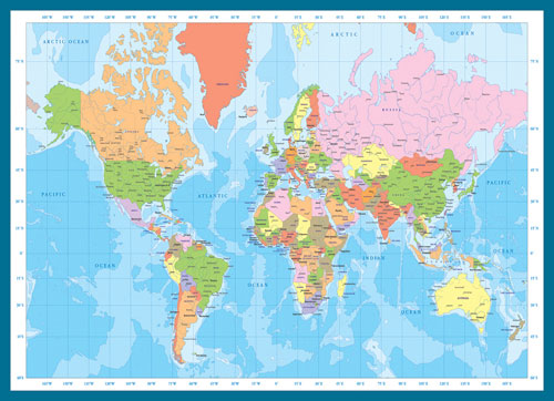 Map of the world jigsaw puzzle puzzlewarehouse map of the world maps geography jigsaw puzzle gumiabroncs