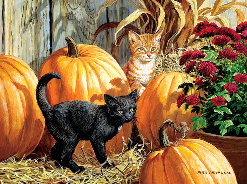 Pumpkin Patch Halloween Jigsaw Puzzle