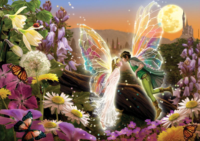 The Kiss Fairies Jigsaw Puzzle