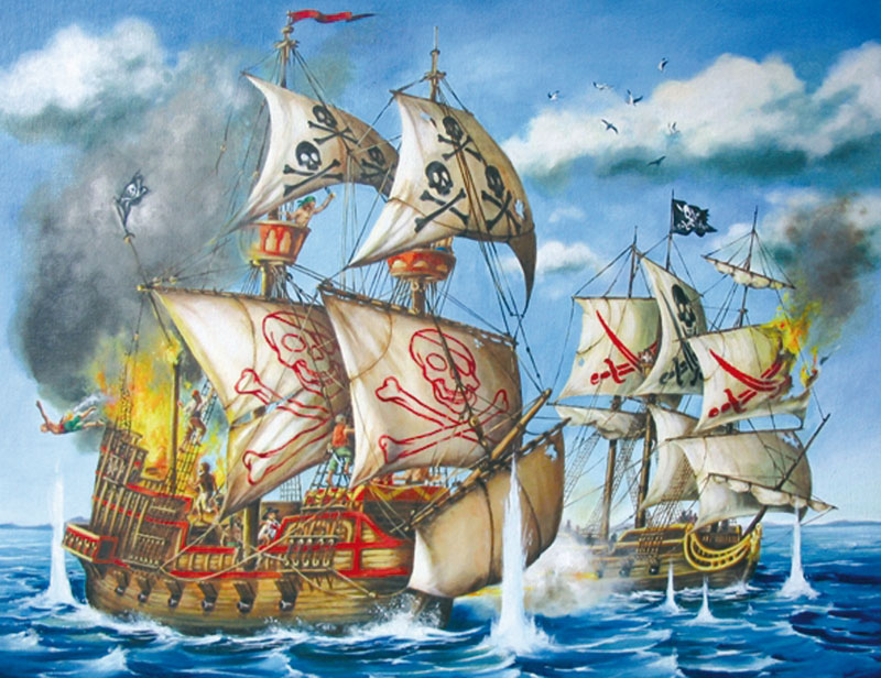 Pirate Ship Boats Children's Puzzles