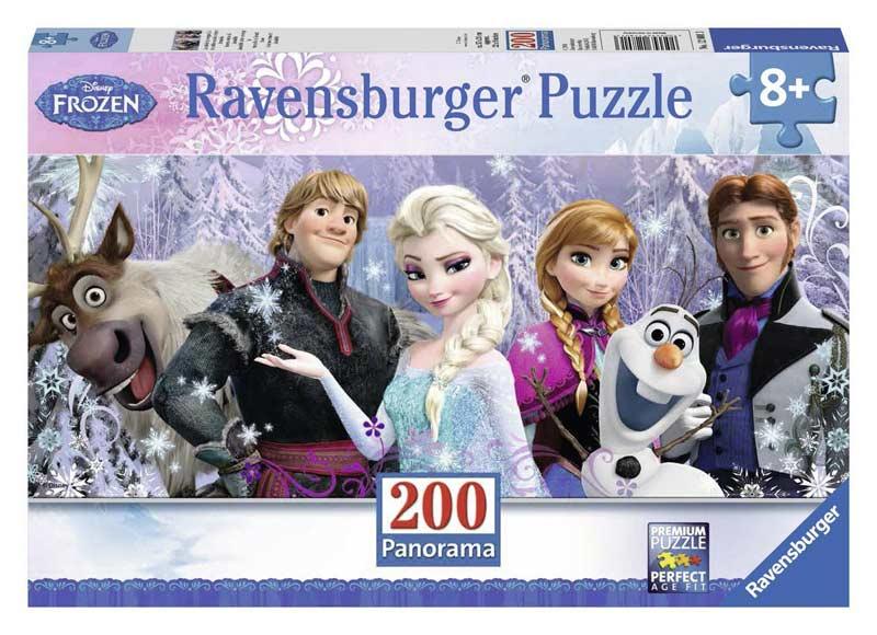 Frozen Friends Cartoons Jigsaw Puzzle
