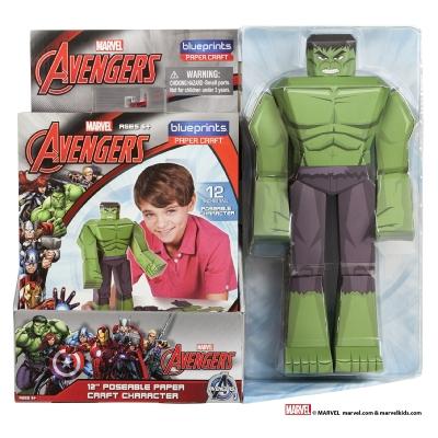 Marvel Blueprints - Hulk Super-heroes