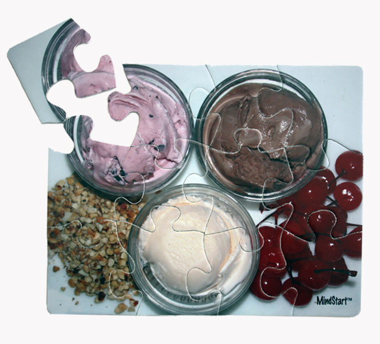 Ice Cream (12pc) Food and Drink Jigsaw Puzzle