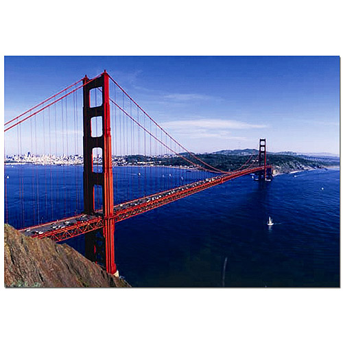 Golden Gate Bridge Landmarks Jigsaw Puzzle