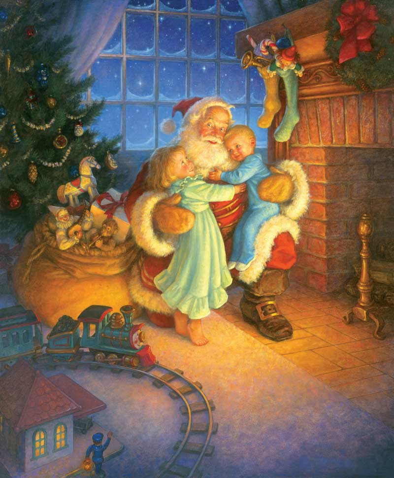 Santa's Reward Christmas Jigsaw Puzzle