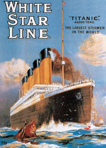 White Star Line Titanic Boats Jigsaw Puzzle