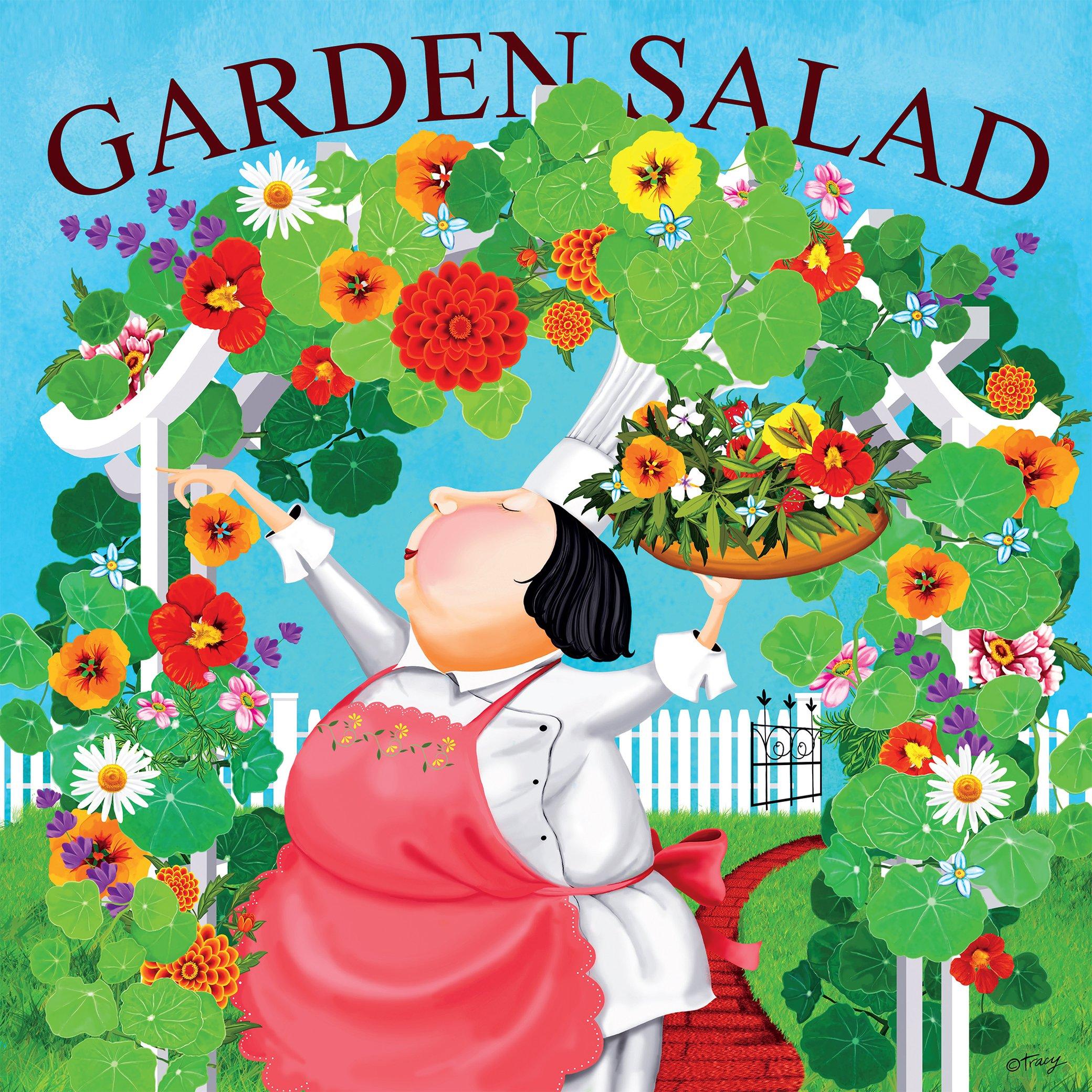 Garden Salad Garden Jigsaw Puzzle