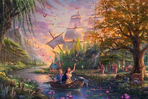 Pocahontas Disney Jigsaw Puzzle
