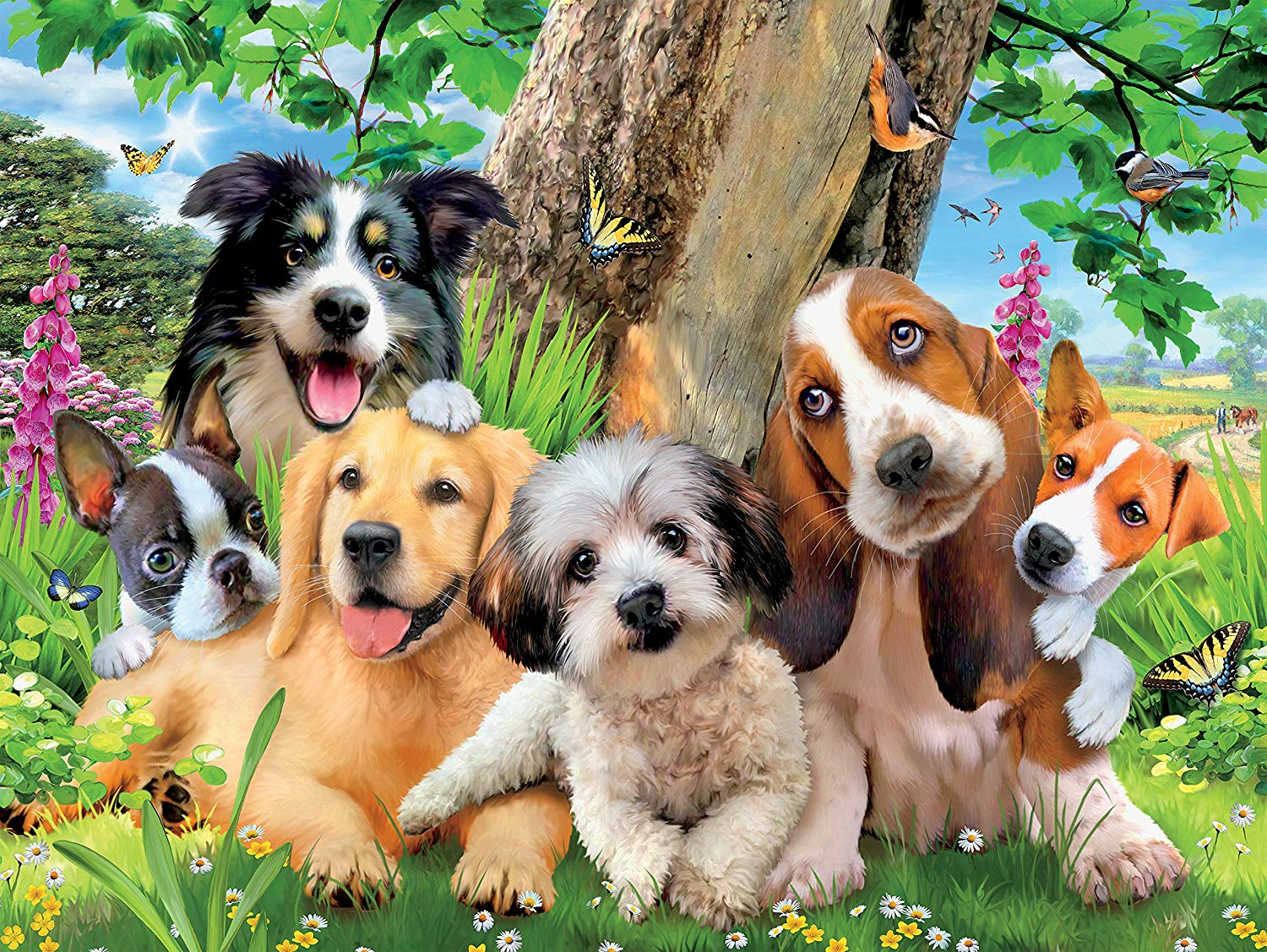 Puppy Pals Dogs Jigsaw Puzzle