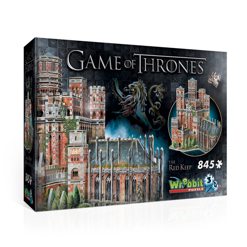 The Red Keep Game of Thrones 3D Puzzle