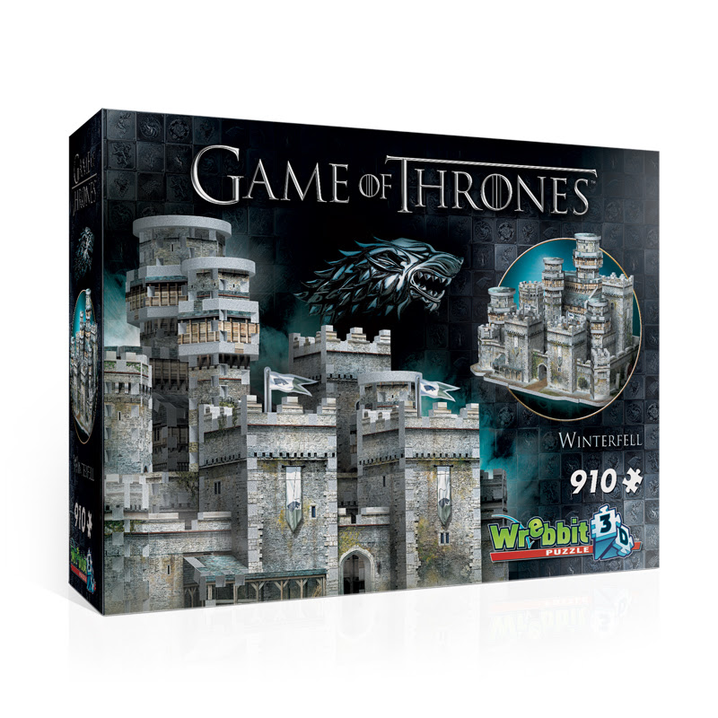 Game of Thrones - Winterfell Castles 3D Puzzle
