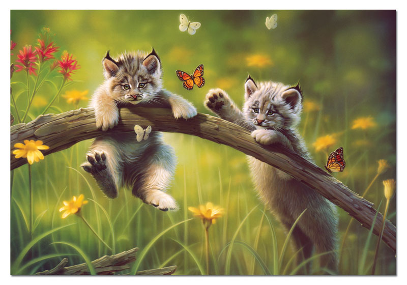 Kittyland Cats Jigsaw Puzzle
