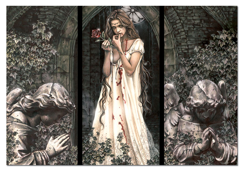 guardian angel triptych jigsaw puzzle. Black Bedroom Furniture Sets. Home Design Ideas