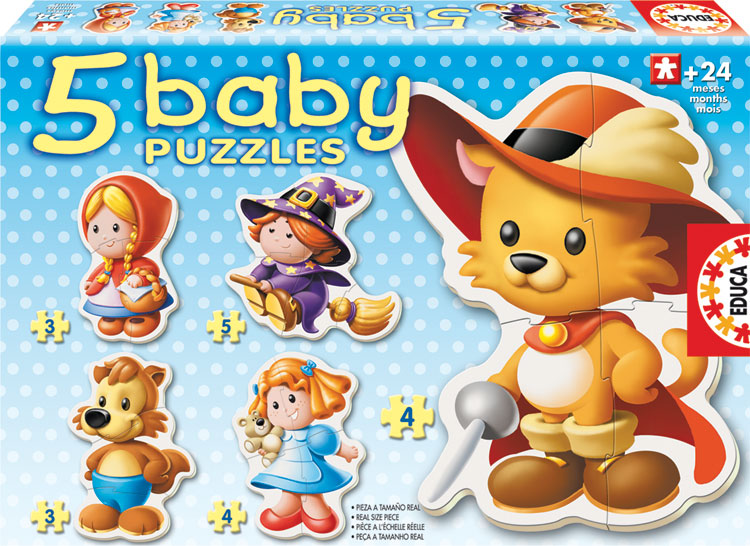 Baby Puzzle - Fairy Tales Fantasy Jigsaw Puzzle
