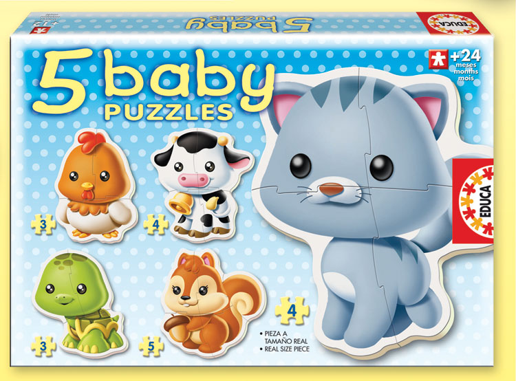Baby Puzzle - Animals Other Animals Children's Puzzles