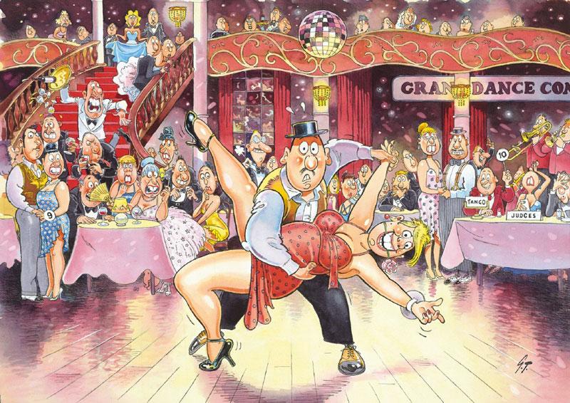 Wasgij Original #17: Ballroom Blushes Wasgij Jigsaw Puzzle