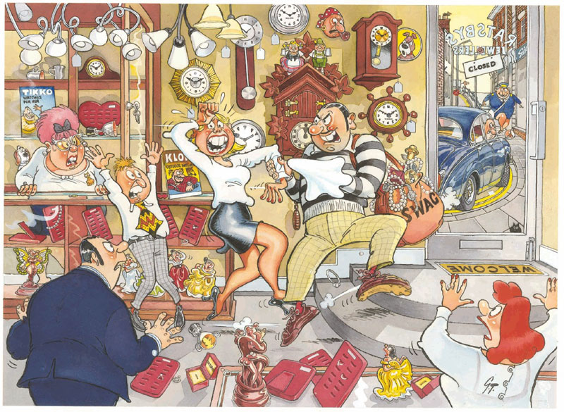 Wasgij? - Mystery # 2, Stop the Clock Wasgij Jigsaw Puzzle