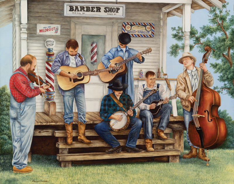 Down Home Music Music Jigsaw Puzzle
