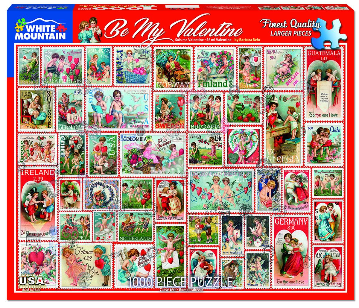 Be My Valentine Valentine's Day Jigsaw Puzzle
