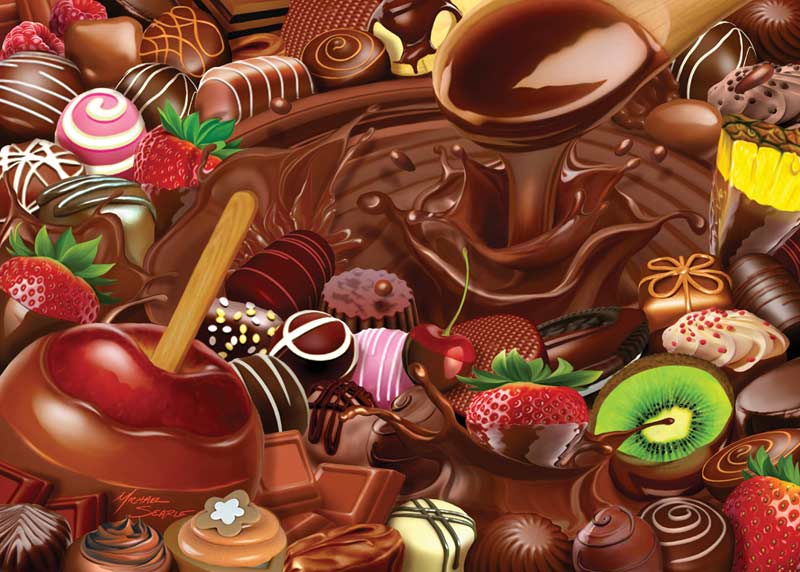 Chocolate Overload Jigsaw Puzzle Puzzlewarehouse Com