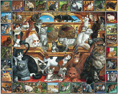 The World of Cats Cats Jigsaw Puzzle