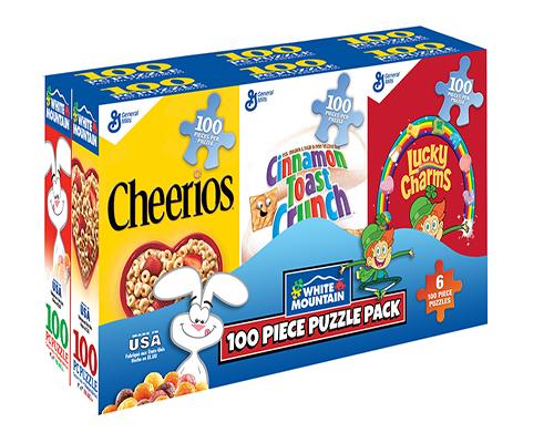 Mini Cereal (Mini) Nostalgic / Retro Jigsaw Puzzle
