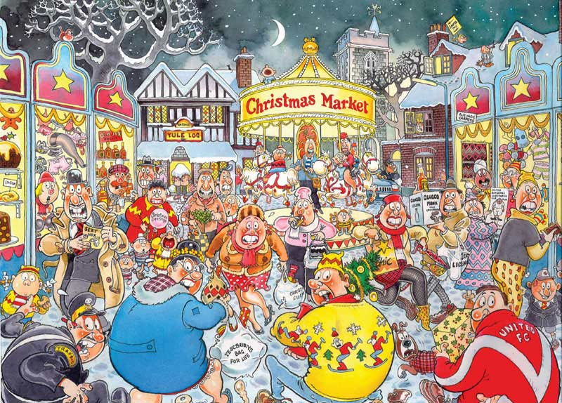 Wasgij Christmas #6 - A Very Merry Christmas Wasgij Jigsaw Puzzle