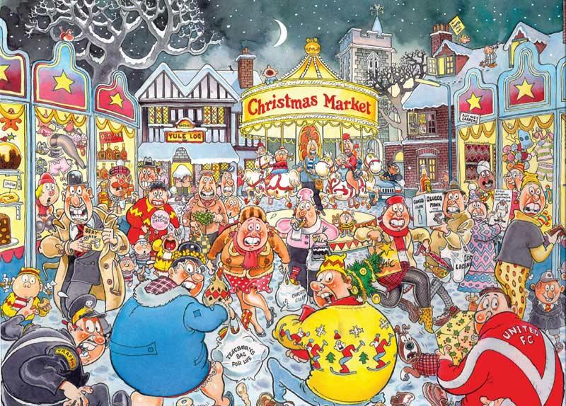 Wasgij Christmas #6 - A Very Merry Christmas Wasgij Jigsaw Puzzle