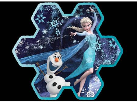 Elsa's Snowflake - Scratch and Dent Disney Jigsaw Puzzle
