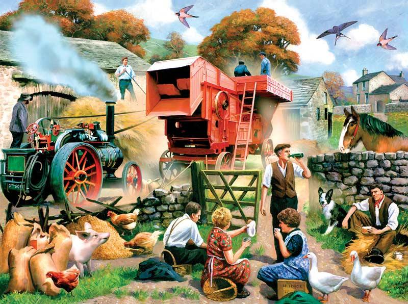 English Fall Fall Jigsaw Puzzle