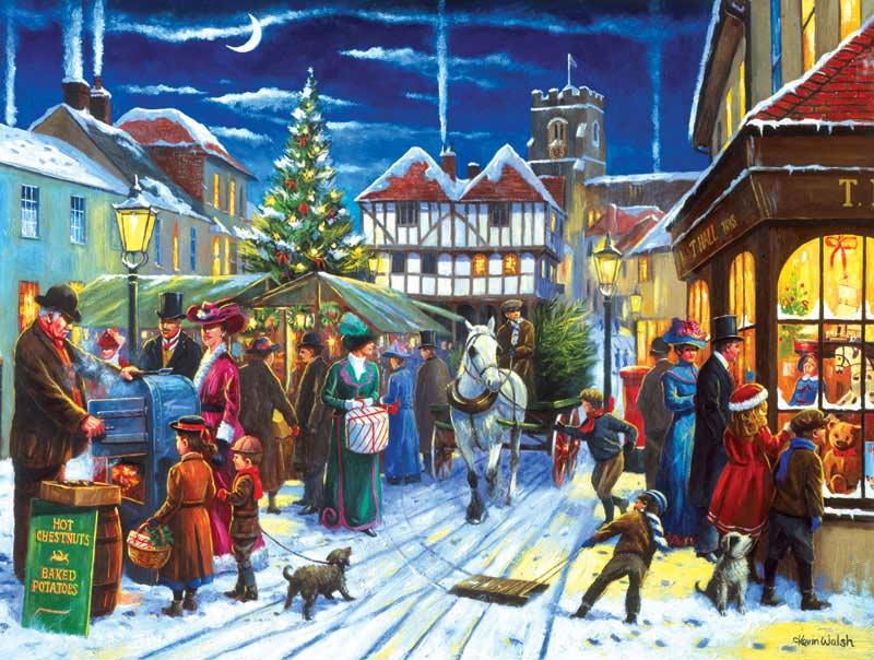 Christmas Market Christmas Jigsaw Puzzle
