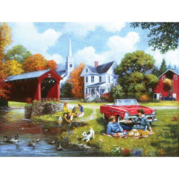 Lazy Days Countryside Jigsaw Puzzle