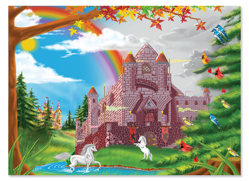 Enchanted Castle Castles Jigsaw Puzzle