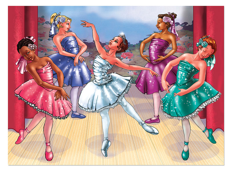 Ballet Recital Dance Children's Puzzles