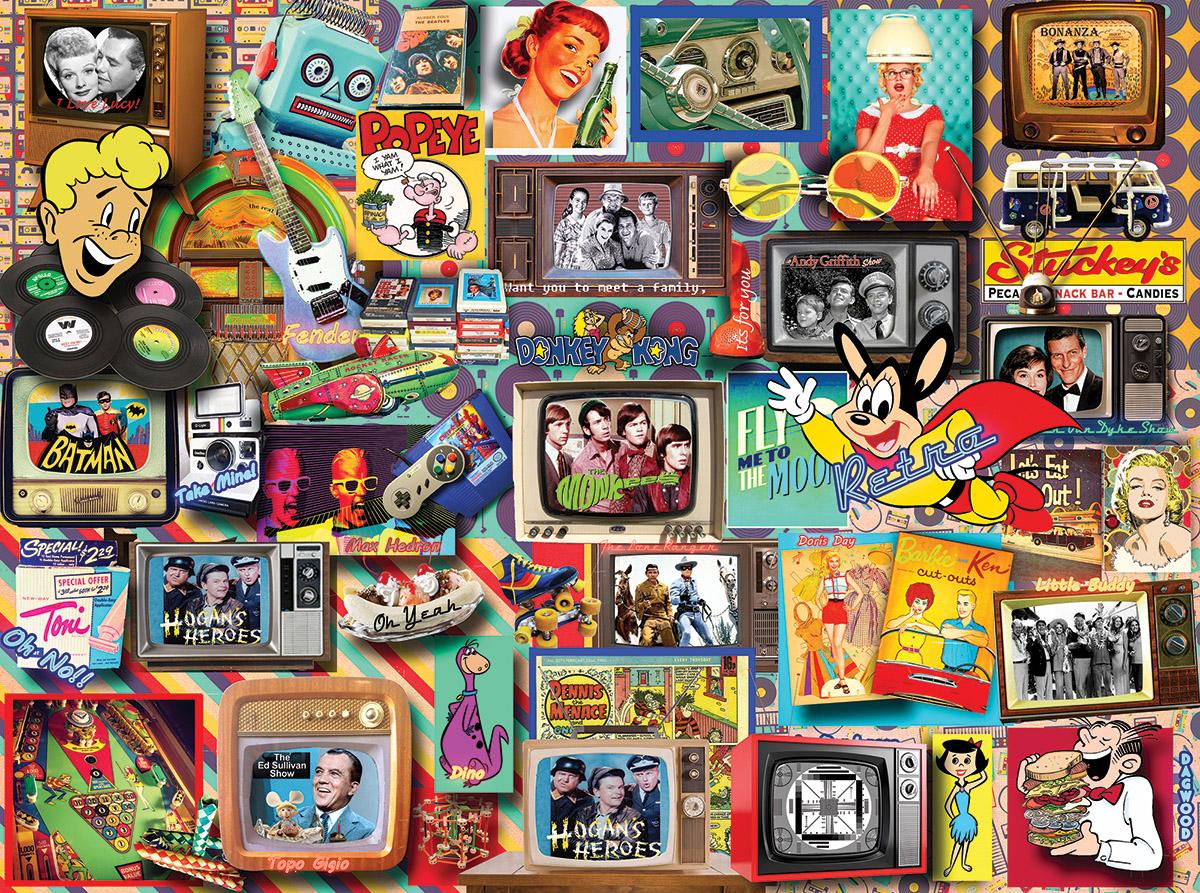 Retro Nostalgic / Retro Jigsaw Puzzle