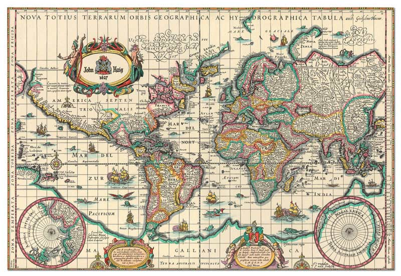 Ancient Map of the World (6000 Pieces)