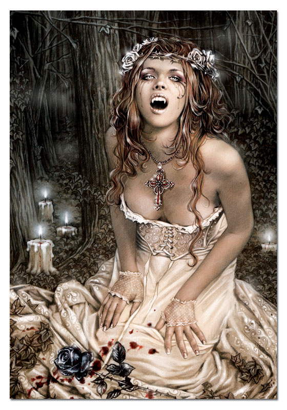 Set Me Free, Vampire Girl Gothic Jigsaw Puzzle