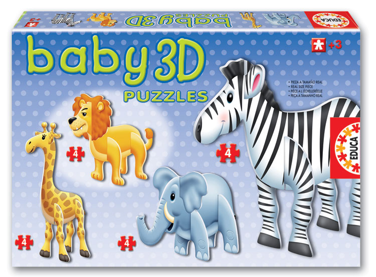 Baby 3D Puzzle - Wild Animals Other Animals 3D Puzzle
